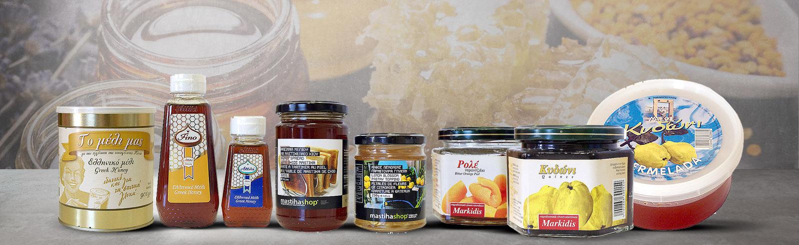 Ετικέτες - Μέλι - Γλυκό Κουταλιού - Μαρμελάδες